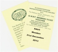membership tickets